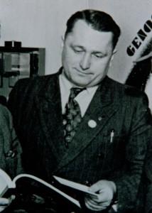 Obermeister der Modellbauerinnung Herbert Dörfelt Geschäftsführer von 1946 - 1982