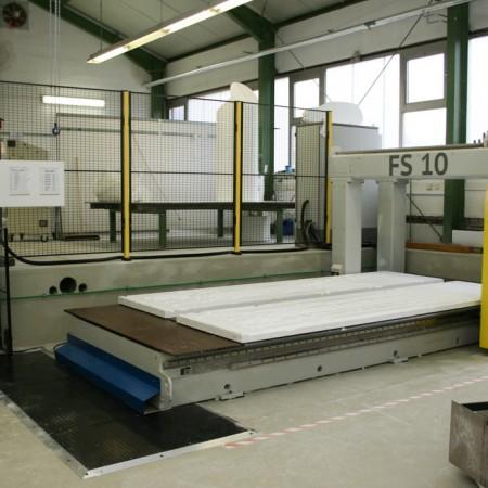 Styrotec FS 10 Portalfräse // portal milling machine